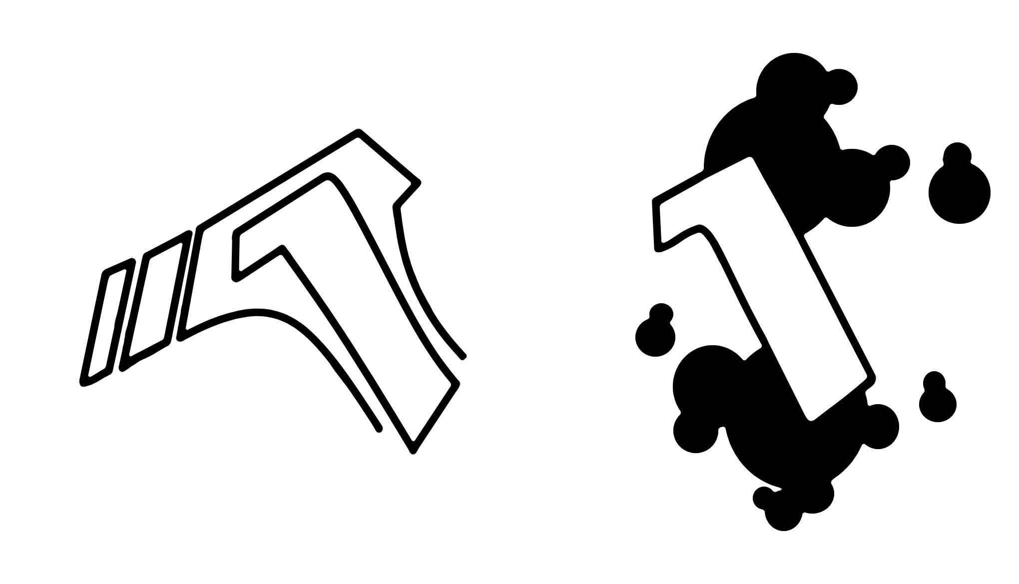 Buchstaben Hintergrund