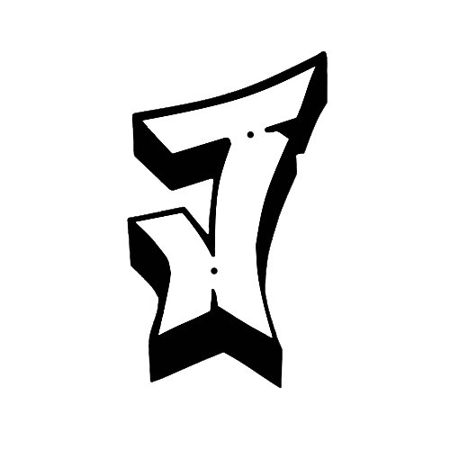 Graffiti J - Graffiti Buchstaben
