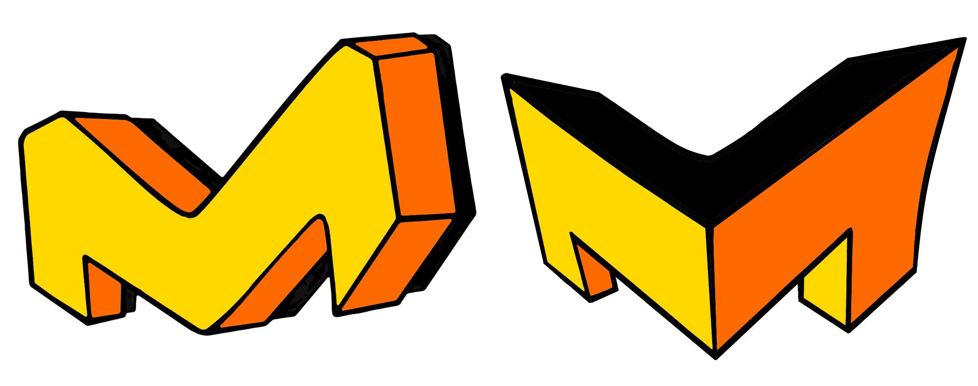 3D Buchstaben zeichnen - Graffiti Buchstaben
